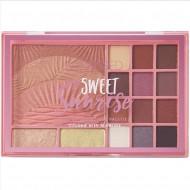 Paleta farduri de ochi si obraz Sunkissed Sweet Sunrise Face Palette