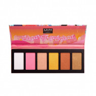Paleta pudre iluminatoare NYX Sugar Trip Squad Highlighting Palette