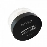 Pudra de fata translucenta Ingrid Bamboo Powder Fix&Matt Effect