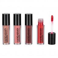 Set machiaj 4 rujuri de buze Liquid Lipstick, 02