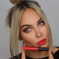 Set ruj de buze si creion contur Technic Lip Kit Matte Nuanta Lady Bird