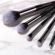 Trusa 12 farduri de ochi + Set 6 pensule par natural Focallure OFERTA