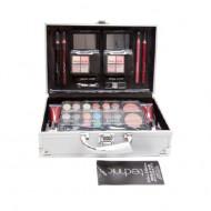 Trusa machiaj + Geanta depozitare cosmetice Technic Colour Collection Case