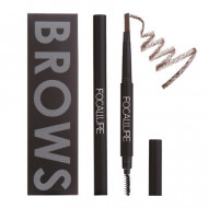 Creion sprancene Focallure Auto Brows Pen, 02 Brown