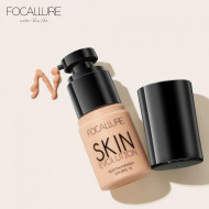 Fond de ten fluid Focallure Skin Evolution SPF15, 03 Warm Ivory