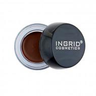 Gel Sprancene Ingrid Eyebrow Pomade Waterproof, Nuanta Dark Brown