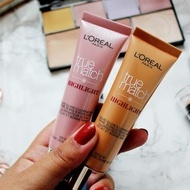Oferta ! Pachet 2 iluminatoare lichide Loreal True Match Highlight Golden Glow + Icy Glow
