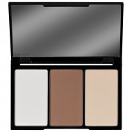 Paleta 3 pudre contur Music Flower Face Contour Kit