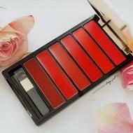 Paleta ruj de buze Loreal Color Riche, La Palette, Red, 6 culori