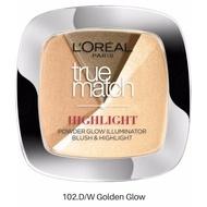 Pudra iluminatoare, Loreal, True Match Highlight, 102 Golden Glow