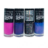 Set 4 Lac de unghii Maybelline Color Show Colorama 01