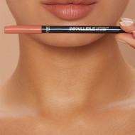 Set ruj de buze + creion contur Loreal X Cheryl Lip Kit Paint It Peach