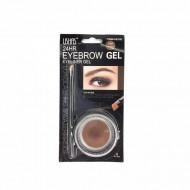 Gel sprancene Ushas Waterproof Eyebrow Gel, 03 Light Brown