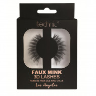 Gene false banda 3D Technic Faux Mink Lashes Los Angeles, Adeziv inclus