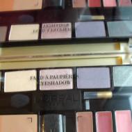 Paleta machiaj cadou Loreal Glamorous Palette Fard/Ruj/Blush