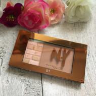 Paleta pudra bronzanta si iluminator Maybelline Bricks Bronzer 01