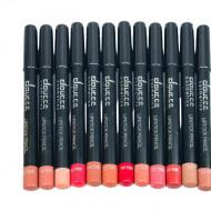 Set 12 creioane de buze Doucce Cosmetics Lipstick Pencil