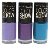 Set 3 Lac de unghii Maybelline Color Show Colorama 01