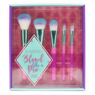 Set 5 pensule machiaj Sunkissed Blend Like A Pro Makeup Brushes