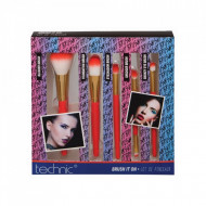 Set 5 pensule machiaj Technic Brush It On