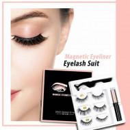 Set Gene False Beauty Belongs To You Magnetic Eyeliner Eyelash Suit