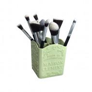 Organizator pentru cosmetice Makeup, Suport, Verde