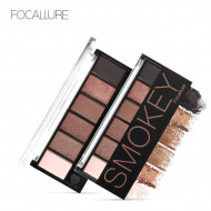 Paleta farduri de ochi Focallure Eyeshadow, 6 culori