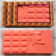 Paleta farduri de ochi Makeup Revolution I Heart Makeup Chocolate and Peaches