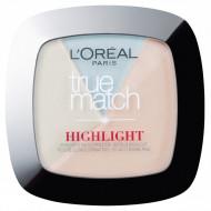 Pudra iluminatoare, Loreal, True Match Highlight, 302 Icy Glow