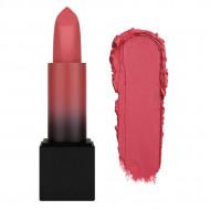 Ruj de buze mat Huda Beauty Power Bullet Matte Lipstick, Nuanta Honeymoon