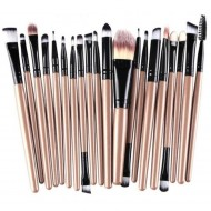 Set 20 pensule machiaj Makeup, Nude