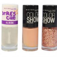 Set 3 Lac de unghii Maybelline Color Show Colorama 02