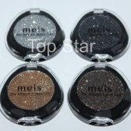 Set cu 4 fard glitter pleoape / glitter color