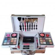 Trusa Machiaj + Geanta depozitare cosmetice Magic Color Makeup Kit New Collection