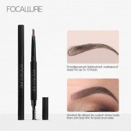 Creion sprancene + perie Focallure Brows Pen