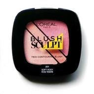 Fard de obraz Loreal Blush Sculpt Nuanta 201 Soft Rosy