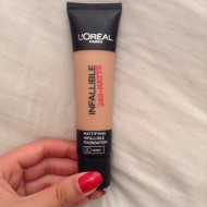 Fond de ten Loreal Infallible 24h Mattifying, Nuanta 30 Honey