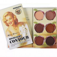 Paleta Contur Kiss Beauty Highlight Contour #3