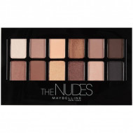 Paleta farduri de ochi Maybelline New York The Nudes