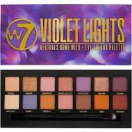 Paleta farduri de pleoape W7 Violet Lights , 14 culori