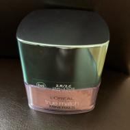 Pudra / Fond de ten mineral L'Oreal Paris True Match Minerals 2R/ 2C Rose Vanilla