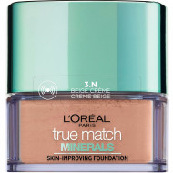 Pudra / Fond de ten mineral L'Oreal Paris True Match Minerals 3N Cream Beige