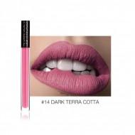 Ruj de buze lichid mat Focallure Matte Lipstick 14 Dark Terra Cotta