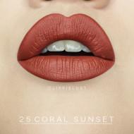 Ruj de buze rezistent la transfer Sephora Cream Lip Stain 25 Coral Sunset