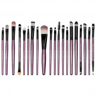 Set 20 pensule machiaj Mauve Brushes