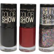 Set 3 Lac de unghii Maybelline Color Show Colorama 03