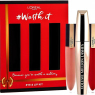 Set ochi si buze L'Oreal Worth It Kit