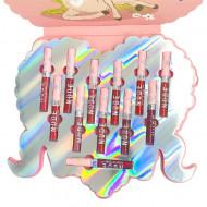 Set rujuri de buze Iman Of Noble, Nude Matte Lip Gloss, 12 culori