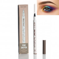 Creion sprancene efect Microblading Music Flower Eyebrow Chestnut