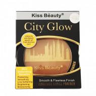 Iluminator Kiss Beauty City Glow, Smooth & Flawless Finish, 03